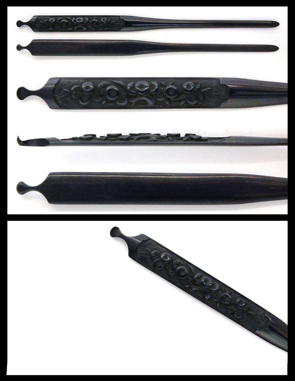 笄:無銘(古金工) | 日本刀販売の葵美術